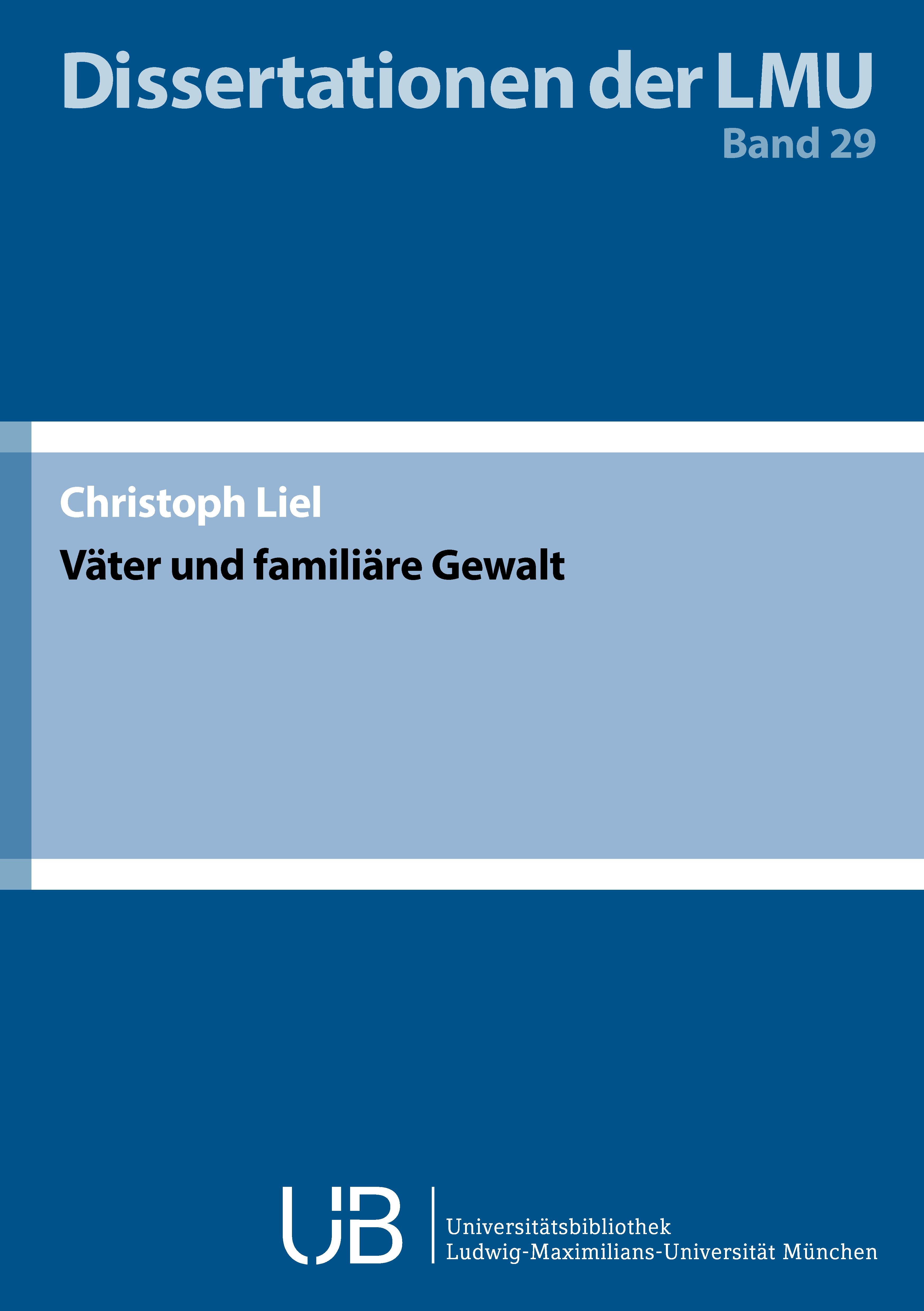 Dissertationen_29Liel_Cover