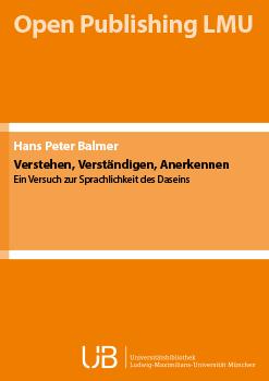 Einzelveröff_Balmer_5_Verstehen_Cover