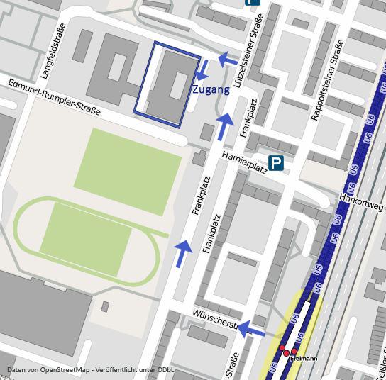 Lageplan Edmund-Rumpler-Straße