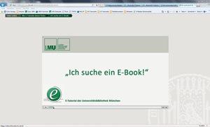 Ich suche ein E-Book
